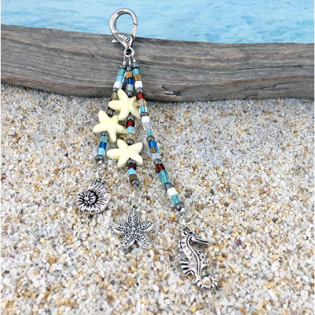 Beach Bag Charms - Beachy Mix - Tropically Inclined