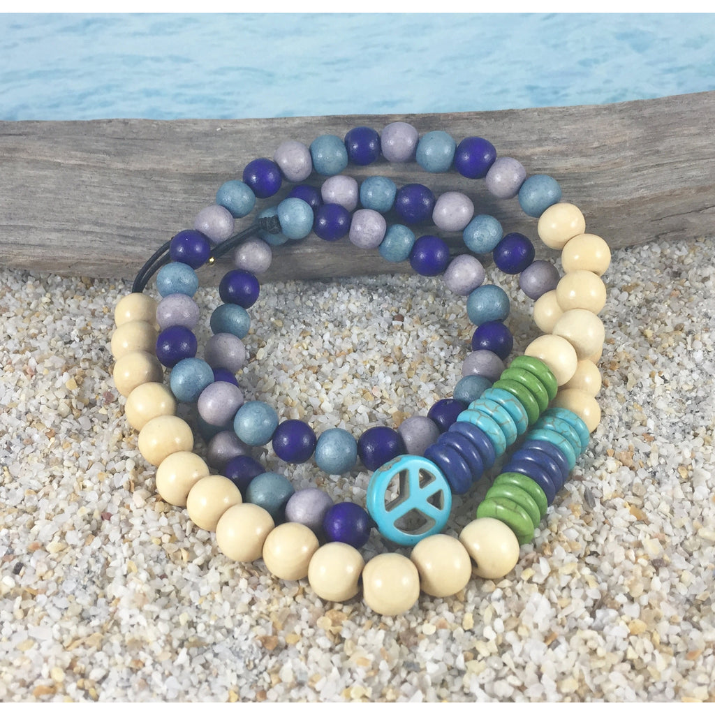 Surfer Pet Necklace - Blue - Tropically Inclined