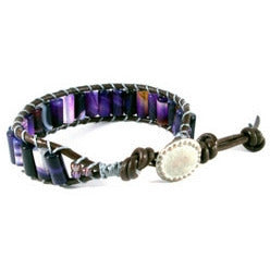 Purple Passion Bracelet - Tropically Inclined