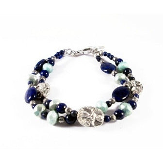 Let's be Mermaids Bracelet - Tropically Inclined