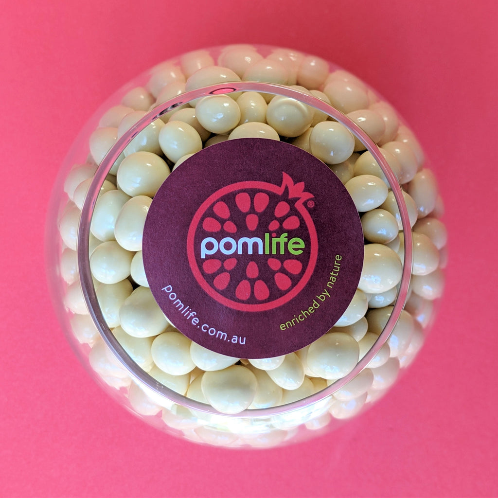 <span class='product-name' id='choc-coated-pomegranate'>WHITE CHOC <span>POMEGRANATE</span></span>