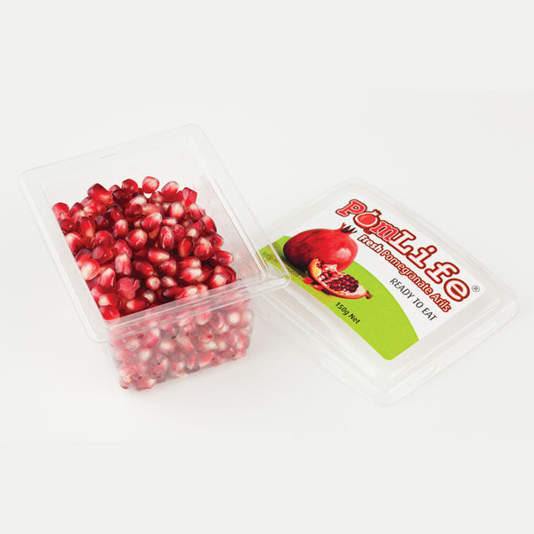 <span class='product-name' id='fresh-arils'>FRESH POMEGRANATE ARILS, 150g (16 pack)</span>
