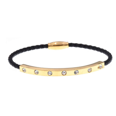 Gold Plated Bracelet W/Magnetic Clasp