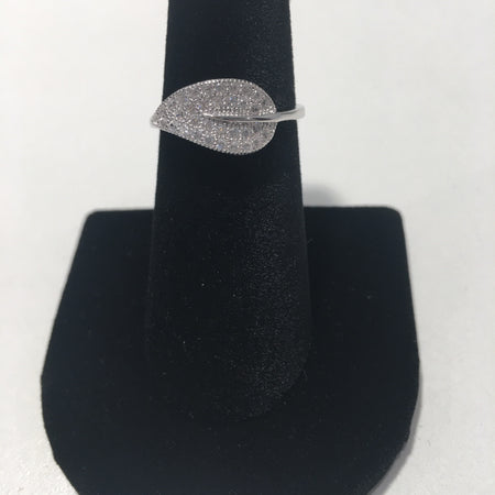 Leaf Sterling Silver Ring