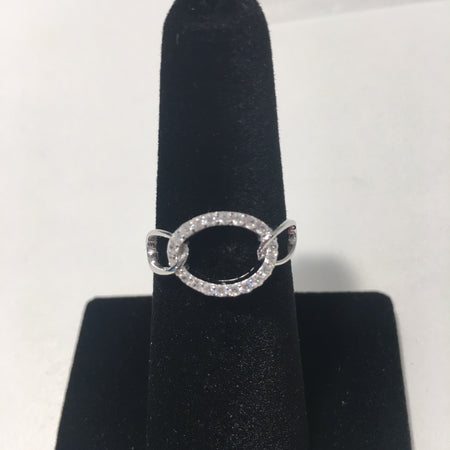 Linked Sterling Silver Ring