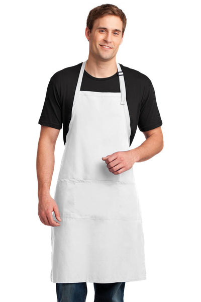 Port Authority Easy Care Extra Long Bib Apron with Stain Release. A700