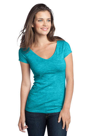 District® - Juniors Extreme Heather V-Neck Tee DT2001