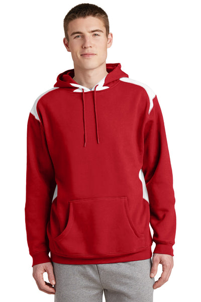 Sport-Tek® Pullover Hooded Sweatshirt with Contrast Color. F264
