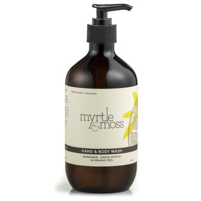 Hand & Body Wash | Mandarin, Lemon Myrtle & Orange Peel 500ml