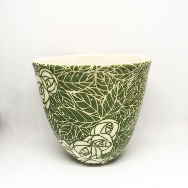 Green Teacup | Samantha Robinson