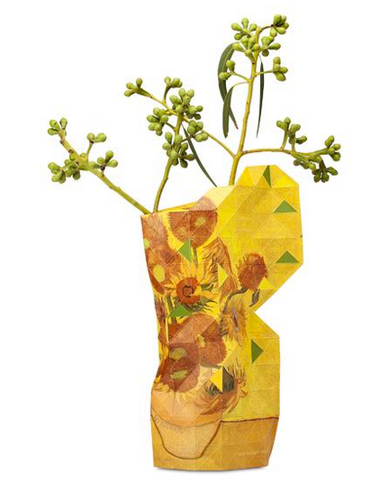 Sunflowers| Large Paper Vase Cover