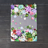 Tea Towel | Succulent Design