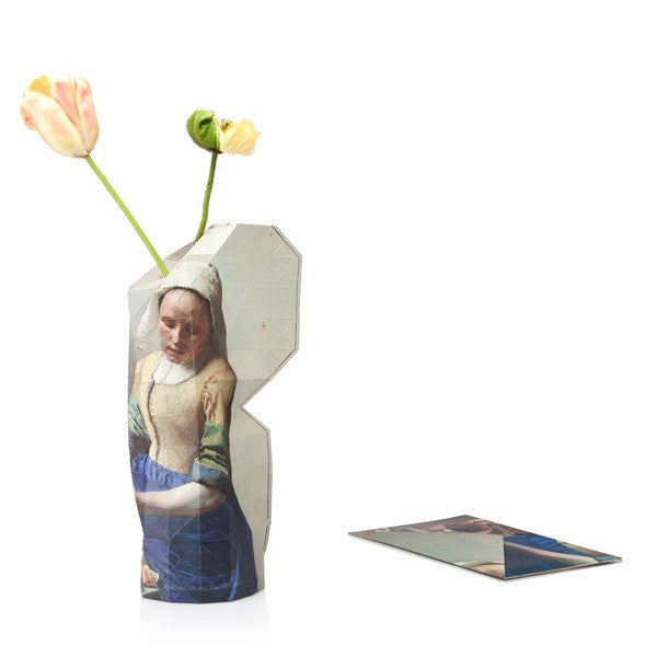 The Milkmaid | Large Paper Vase Cover