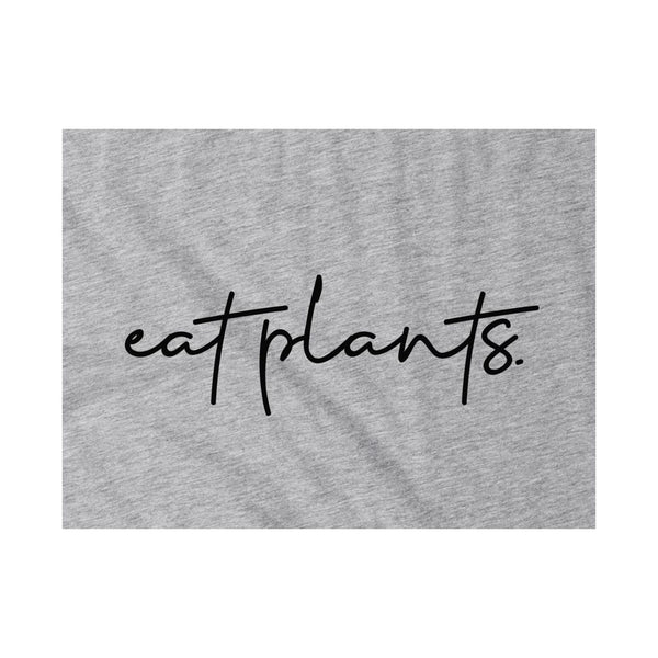 Eat Plants Pocket Tee (Unisex)