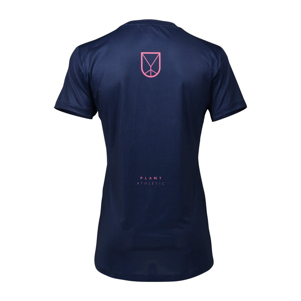 Women's Tech-Tee / Navy Pink