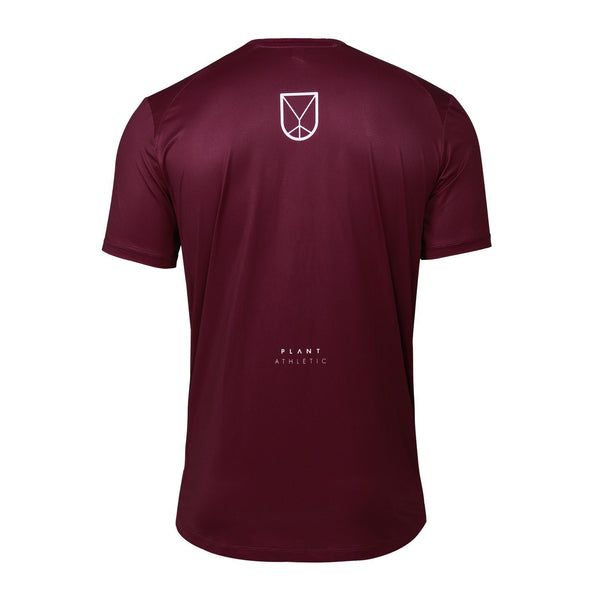Men's Tech-Tee / Burgundy