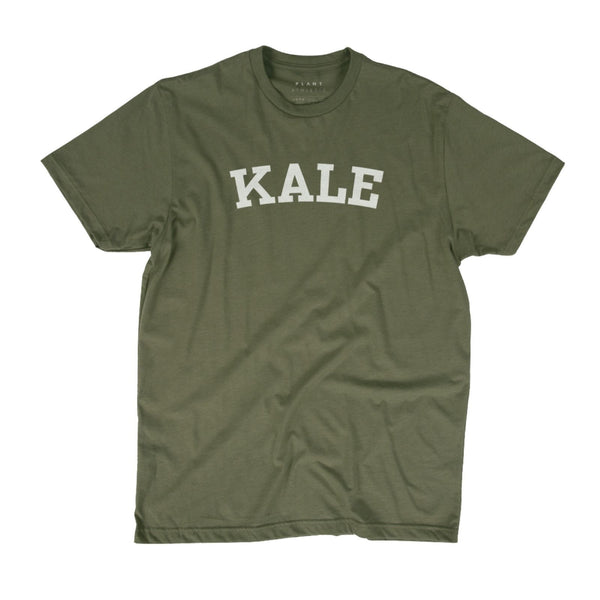KALE Organic T-Shirt (Unisex) / Military Green