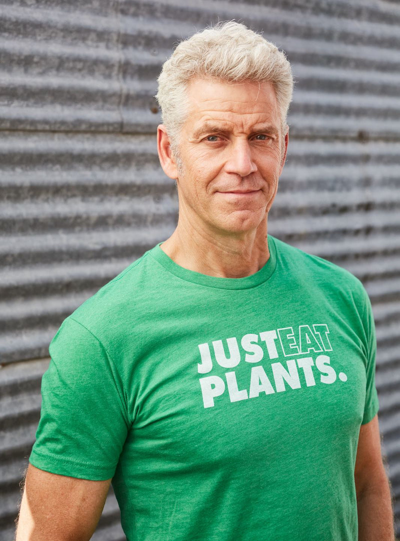 Just Eat Plants Organic T-Shirt (Unisex) / Green