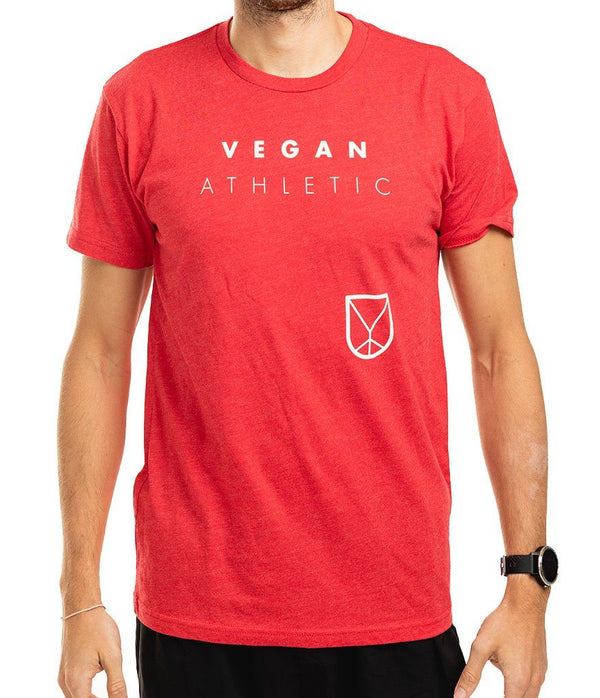 VA Organic Tee (Unisex) - Heathered Red