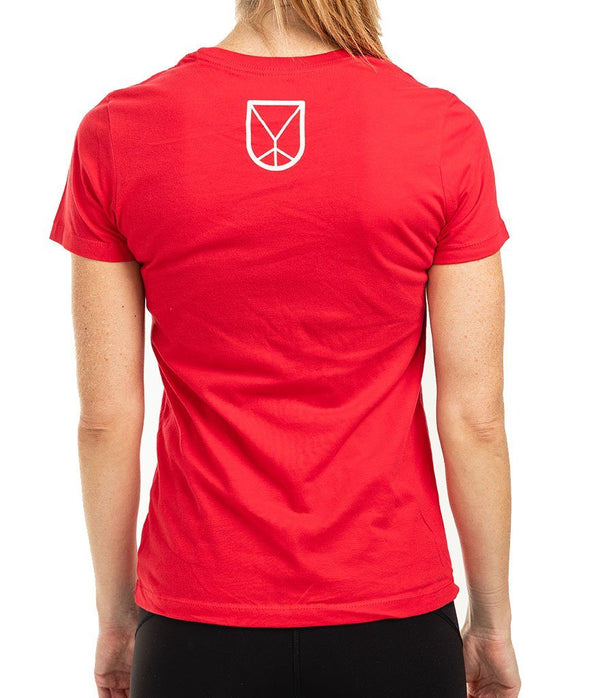 VA Organic Women's Tee  - Red