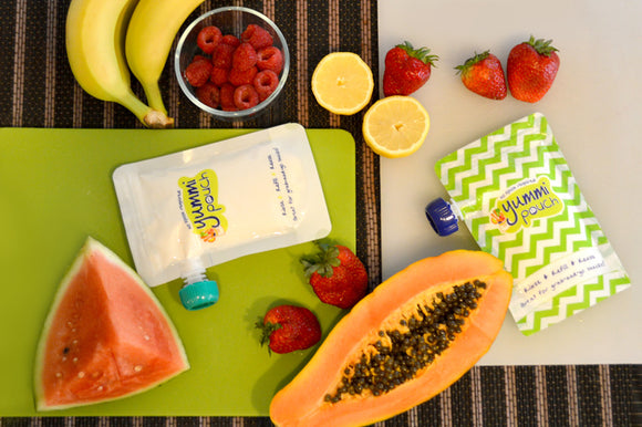 All About Yummi Pouch Reusable Food Pouches