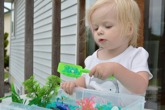 Easy DIY Kid's Sensory Bins - Revelae Kids