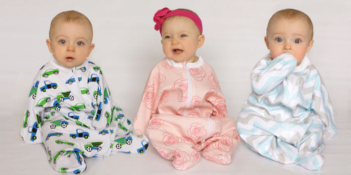 Revelae Kids Cozy Sleepers enclosed baby swaddles