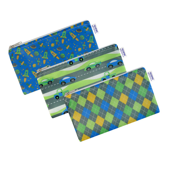Yummi Pouch Cloth Snack Bags by Revelae Kids - Flashy set