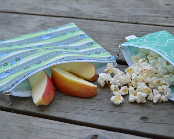 Yummi Pouch boys cloth snack bags by Revelae Kids