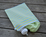 Yummi Pouch Everything wet and dry bag by Revelae Kids - Spunky Chevron