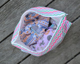 Yummi Pouch Everything wet and dry bag by Revelae Kids - Sweet Chevron
