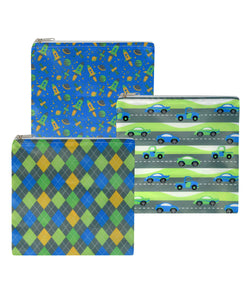 Revelae Kids cloth sandwich bags Flashy set for boys