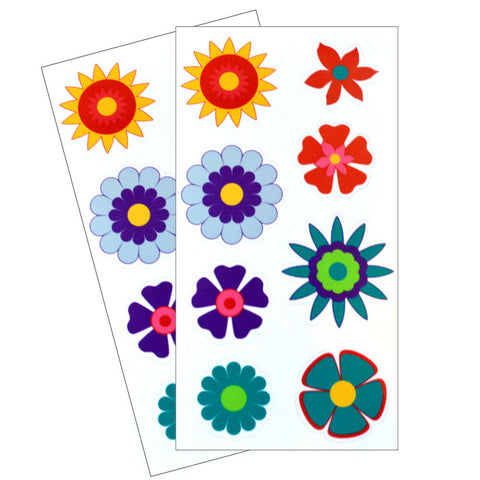Flower Dishwasher Safe Stickers