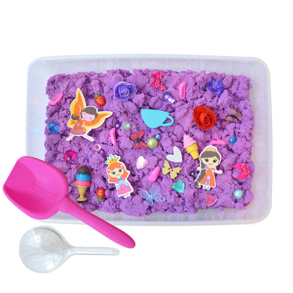 Glamour Princess Discovery Box sensory bin by Revelae Kids