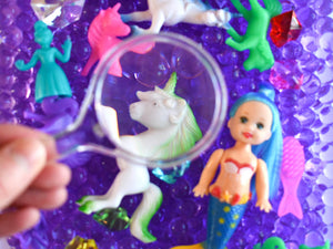 Unicorns & Mermaids Discovery Kit for Sensory Play (No Box)