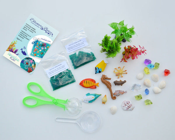 Ocean Exploration Discovery Kit by Revelae Kids for sensory playtime