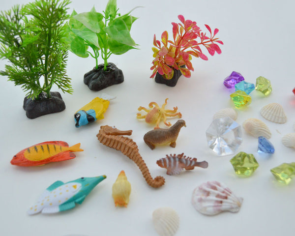 Ocean Exploration sensory Discovery Kit by Revelae Kids