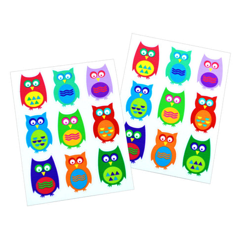 Owl Dishwasher Safe Stickers