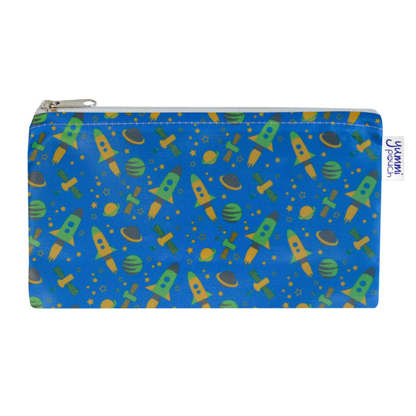 Yummi Pouch Cloth Snack Bags by Revelae Kids - Rocket print
