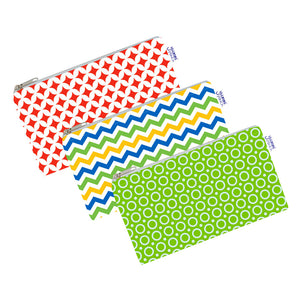 Yummi Pouch Cloth Snack Bags by Revelae Kids - Spunky set