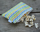 Yummi Pouch spunky chevron cloth snack bag by Revelae Kids
