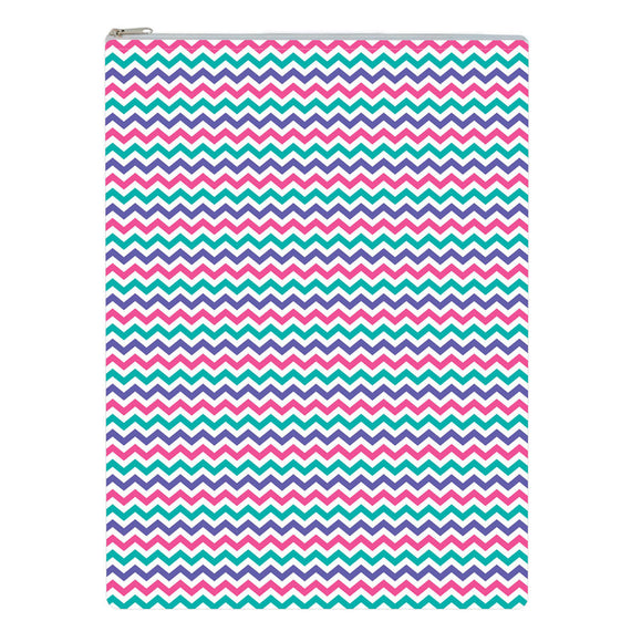 Yummi Pouch Everything Bag by Revelae Kids - Sweet Chevron