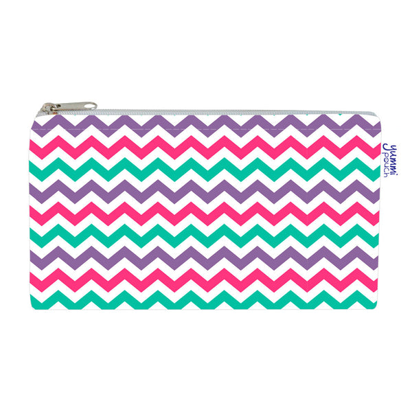 Yummi Pouch Cloth Snack Bags by Revelae Kids - Sweet chevron print
