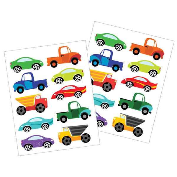 Cars and Trucks Dishwasher Safe Stickers by Revelae Kids