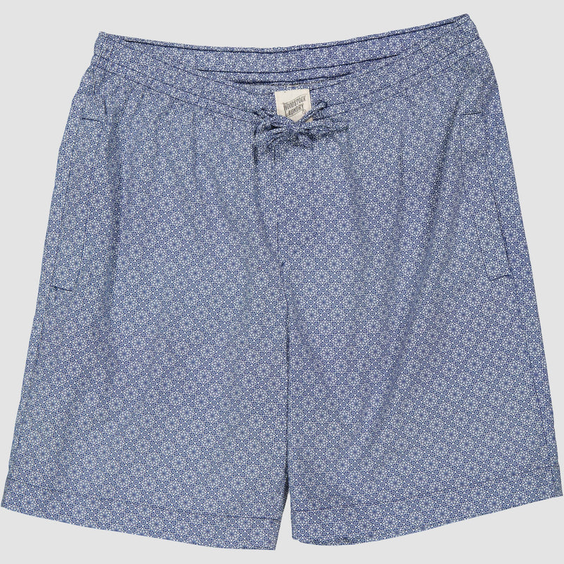 Mens Lounge Shorts Albert Flower - Woodstock Laundry
