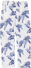 Womens Lounge Pants Hand Leaf
