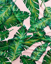 Banana Leaves Pattern Detail - Woodstock Laundry