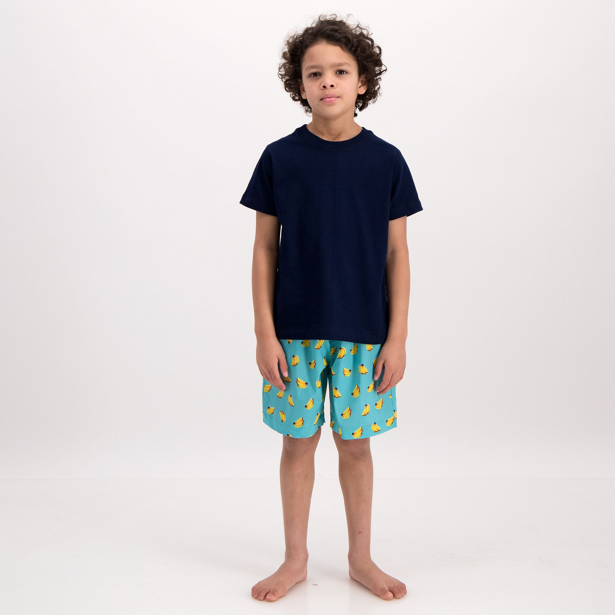 Boys Lounge Shorts Bananas - Woodstock Laundry