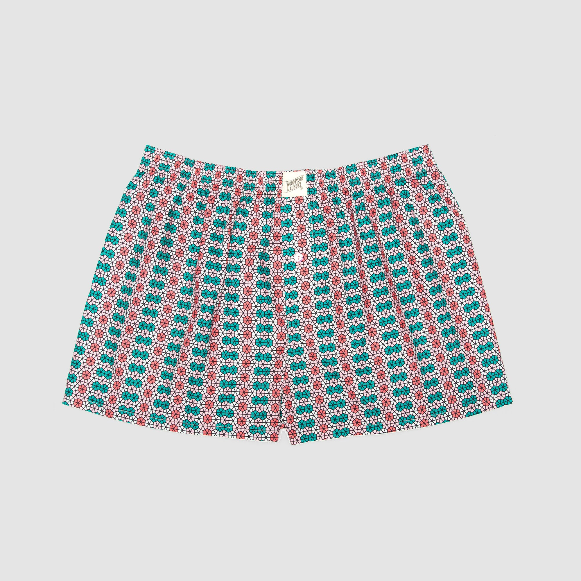 Boxer Shorts Hexagon Marrakesh - Woodstock Laundry