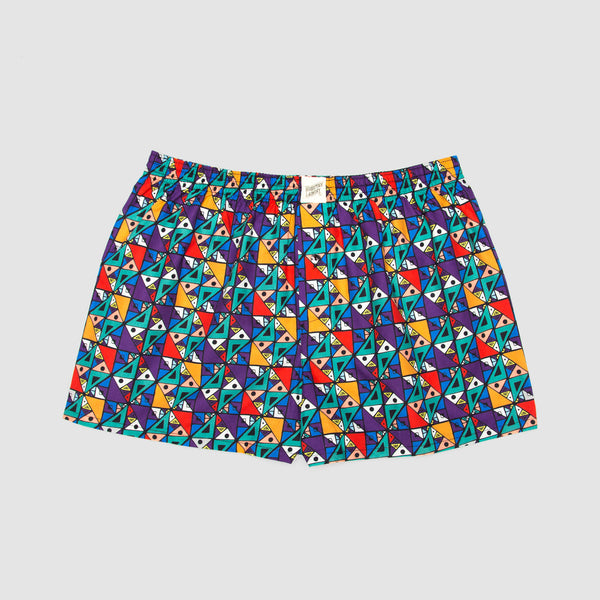 Boxer Shorts Ndebele Bright - Woodstock Laundry